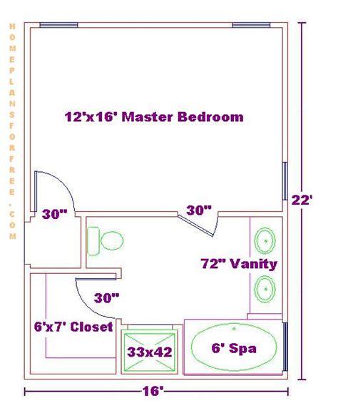 bedroom suite plans