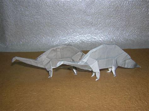 Origami Apatosaurus - apatosaurus