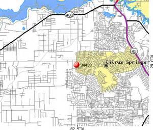 citrus springs florida map 34433 zip code citrus springs florida profile homes