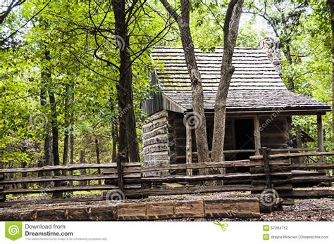 Historic Log Cabin Construction by Historic Log Cabin Stock Photo Image 57294712