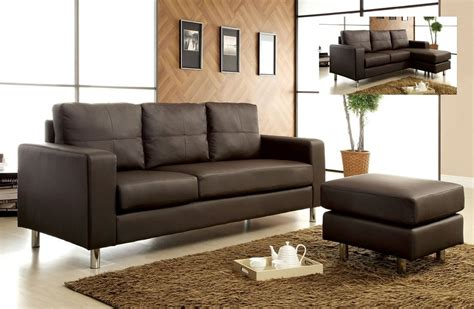 black and brown sectional modern hyde park dark brown leather sofa sectional