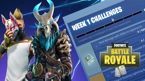 fortnite challenges for season 5 fortnite challenges for season 5 week 1 been released