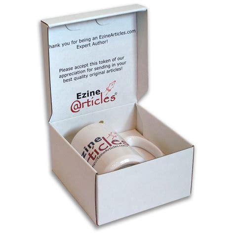 New Ezinearticles Mug Mailer Coffee Mug Box Template