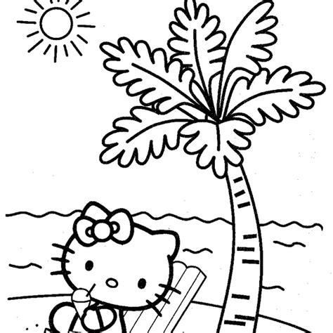 Beach Coloring Pages Your Personal Guide To Marthas Vineyard | palm tree beach drawing at getdrawings com free for