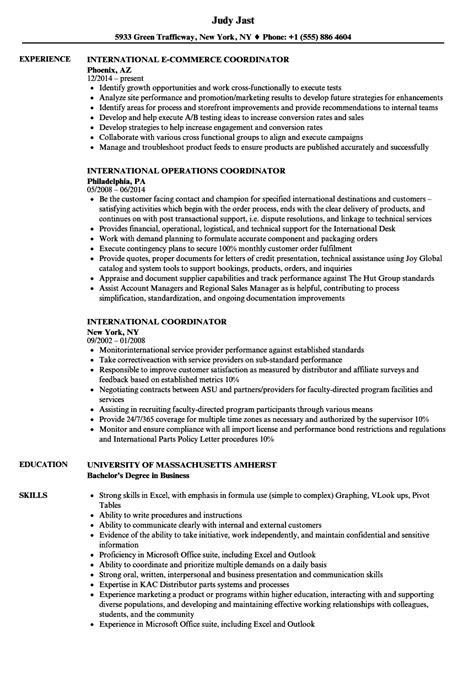 resume format for overseas generous international resume sle ideas exle