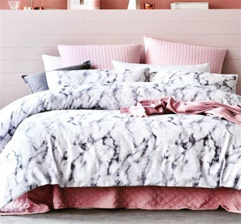 rose gold bedding this rose gold marble bedding on the hunt