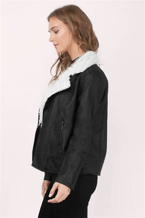 Quish Jacket jackets faux leather jackets coats and jackets for
