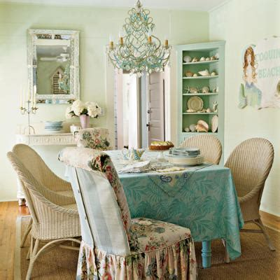 chic dining room coastal home decorating themes beautiful home inspirations