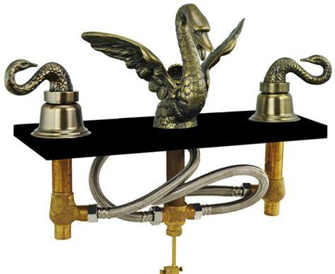 antique brass bathroom faucets widespread antique brass finish bathroom faucets my web value