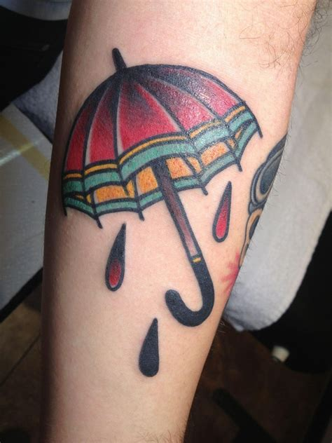 black umbrella tattoo umbrella designs ideas and meaning tattoos for you