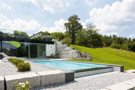 Pool Am Hang by Panorama Pool Schwimmbad Zu Hause De