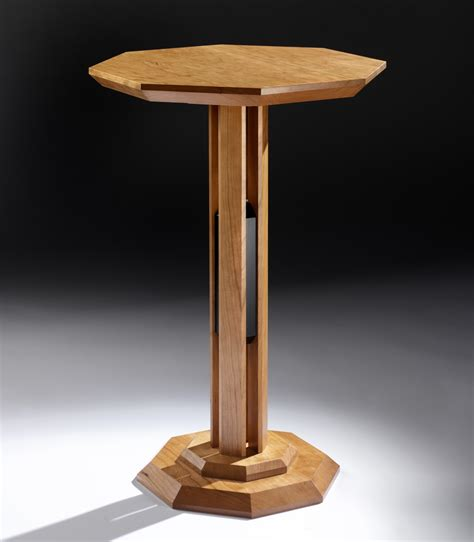 contemporary bespoke pedestal table