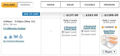 amtrak premium seat amtrak 2016 limits premium award seats frequent miler