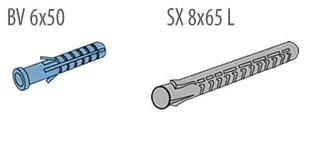 Dynabolt 8x65 Baut Dynabolt 8x65 plastikiniai kai蝪芻iai baut plytos ir blokeliai m雖ro armavimo ir jungiamieji elementai serfas lt