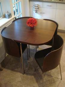 Kitchen Tables For Small Spaces Ikea Design On A Budget