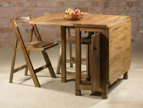 superior Drop Leaf Kitchen Table And Chairs #1: Small-Drop-Leaf-Table-With-Chair-Storage-Plus-Classic-Design-Style.jpg