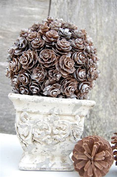 pine cone crafts 5 pine cone diy projects for fall pine cone craft ideas