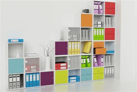 Maxi Dewi Toska cassettiere per librerie a caselle