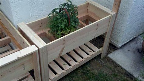 plans   raised planter box plans diy
