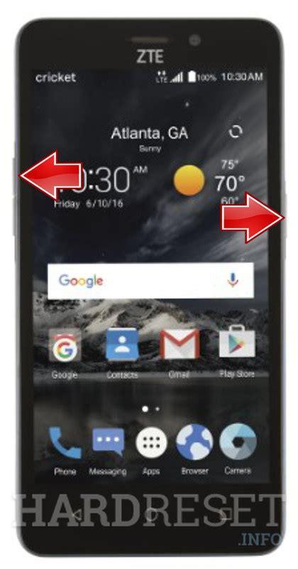 soft reset android zte zte sonata 3 z832 fastboot mode hardreset info
