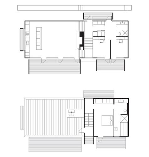 dwell floor plans dwell a pine box vacation home in sweden