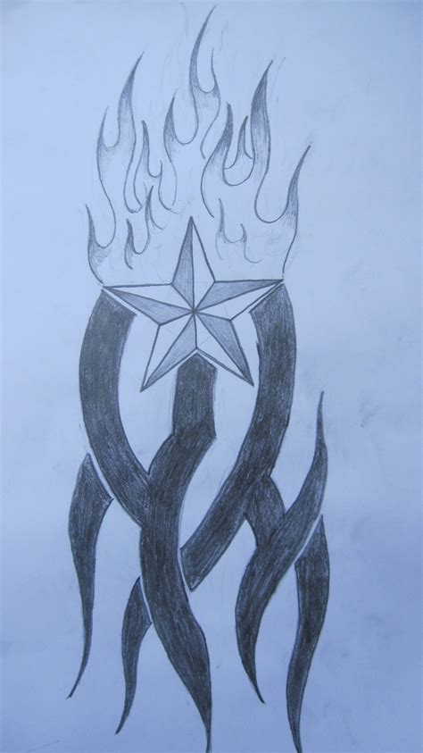 tribal nautical star tattoo designs tribal nautical by theflyingdutchman90 on
