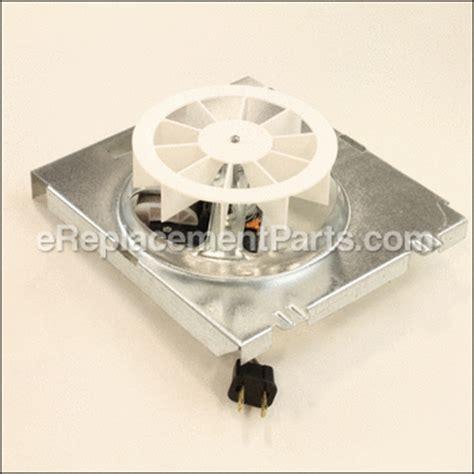bathroom fan replacement parts nutone vc305an parts list and diagram ereplacementparts com