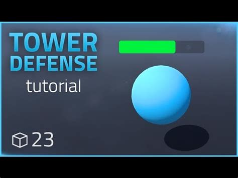 unity tutorial tower defence how to make a tower defense game e23 health bars unity
