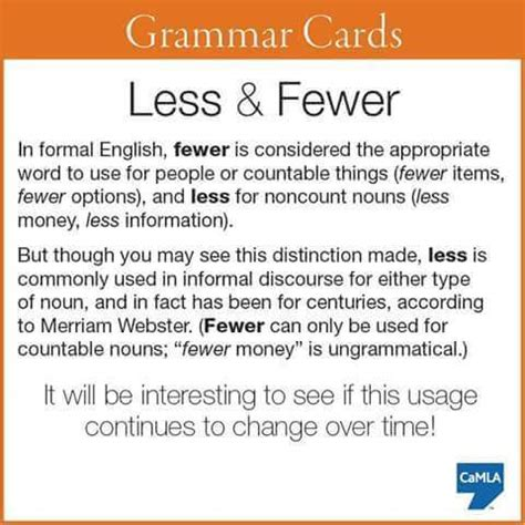 Gift Card For Less - grammar cards less fewer materials for learning english