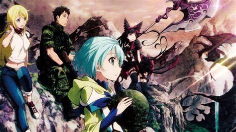 wallpaper anime gate download 1920x1080 anime girls gate jieitai kanochi nite