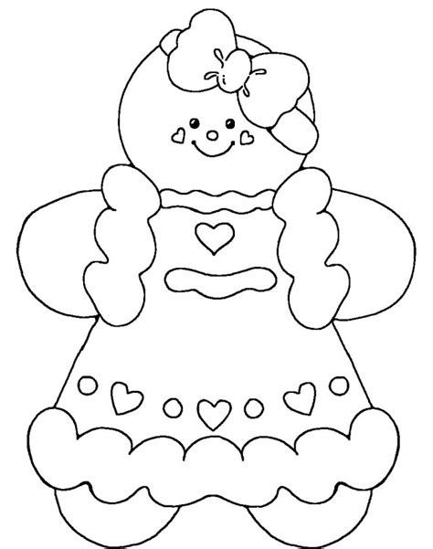 Gingerbread Girl Coloring Page Az Coloring Pages Gingerbread Coloring Page