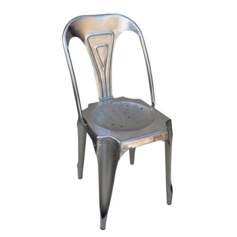chaise metal vintage chaise bistro r 233 tro m 233 tal tendances et traditions