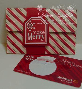 Envelope Gift Card Holder - gift card holder envelope video dawns sting thoughts stin up demonstrator