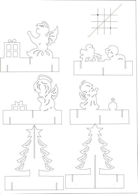 pop cards templates popup card 180 độ pattern sch kiri papercuts