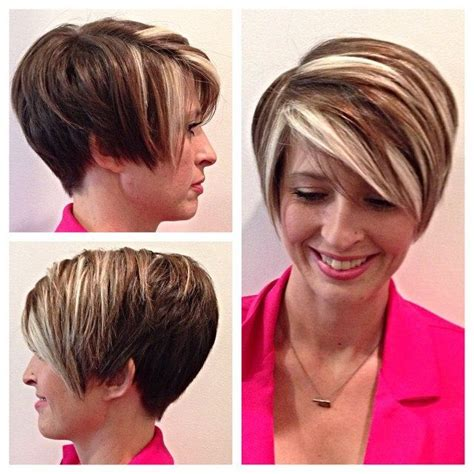 high and low highlights on short hair 500 best images about chunky streaks lowlights 2 on