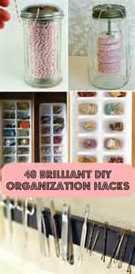 diy home hacks 40 diy home organization hacks