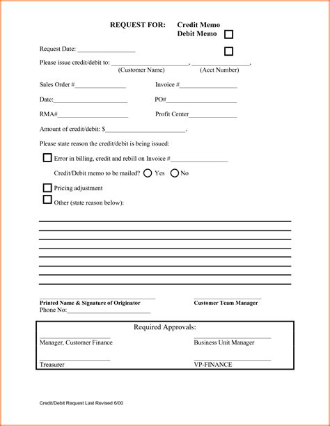 Credit Note Request Form Template Sle Of Credit Letter In Business 1000 Ideas About Formal Business Letter Format On