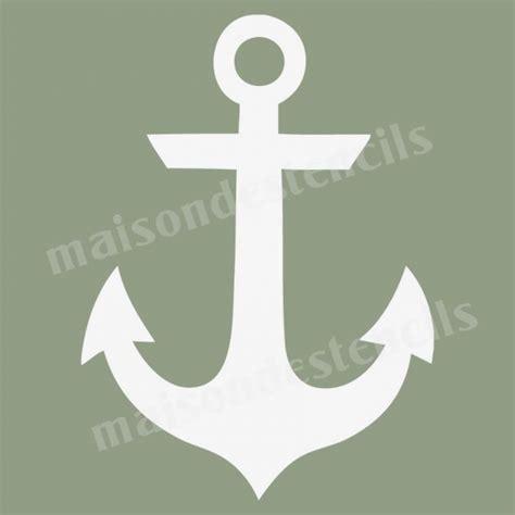 anchor template anchor graphic 12x12 stencil