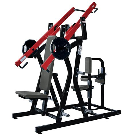 hammer strength plate loaded iso lateral chest back