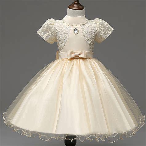 Od Dress Kid Princess Yellow kupuj wyprzedażowe frocks for od chińskich