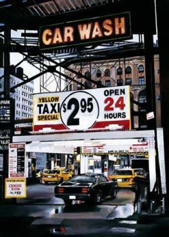 Paket Care Hanasu waschanlage car wash taxi auto bild poster 44463 ebay