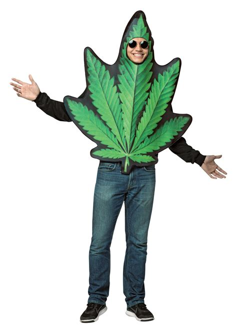 marijuana leaf real funny costumes