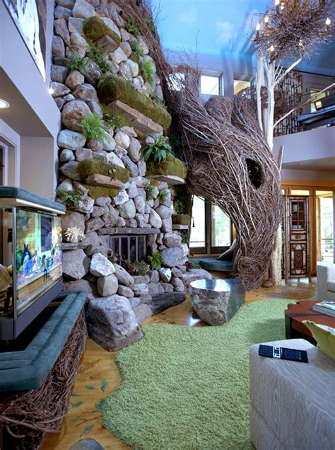 Nature Room Design by Nature Enthusiast Living Inmod Style