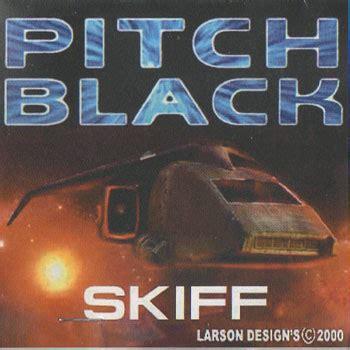 skiff larson quot pitch black quot skiff by larson designs