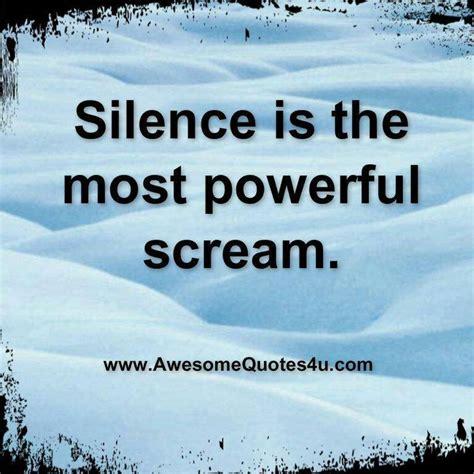 the power of silence the power of silence quote quotes