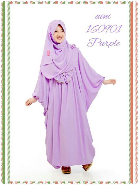 Harga Baju Merk Ethica gamis anak syar i terbaru 160901 purple 0821 3898 4178