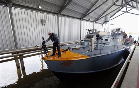 pt boat rides pt boat that saw wwii combat restored in louisiana daily