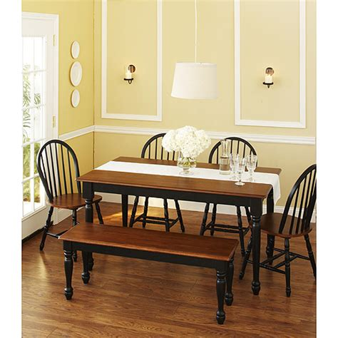 dining table sets walmart small kitchen table and bench set
