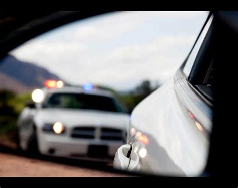 cop lights in mirror lights in rear view mirror amazing wallpapers