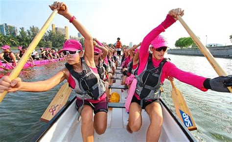 dragon boat racing and breast cancer paddling dragon boats can help with cancer recovery